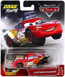 Disney Cars Lightning McQueen Drag Racing Diecast 1:55 Scale
