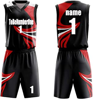 Custom Basketball Set Tops and Shorts - Make Your OWN Jersey - Personalized Team Uniforms