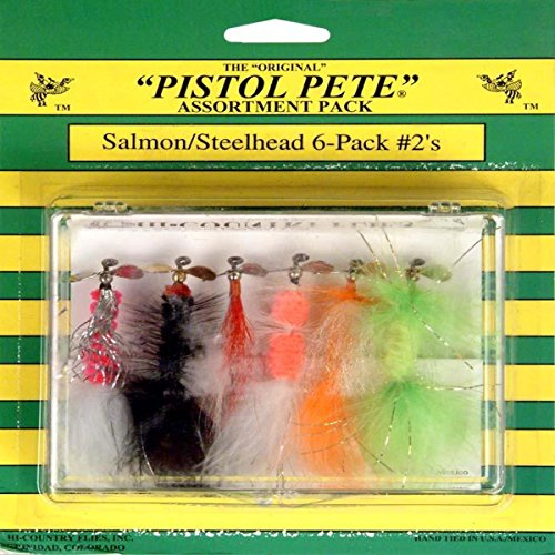 Pistol Pete Hi-Country Fishing Flies, Size 2, Salmon/Steelhead