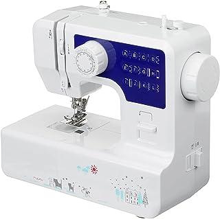 QinWenYan Mini Machine à Coudre Machine À Coudre Électrique Mini De Bureau 12 Points De Couture sur Mesure Ménage Vêtement...