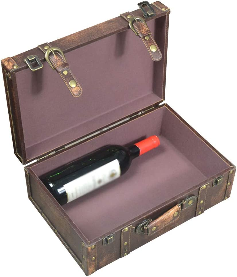 XJJUN Vintage New item Suitcase Decorative Photography Tr depot Suitcases Props