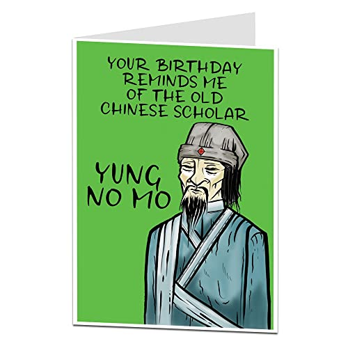 Funny Birthday Card For Men Women Rude Age Joke Perfect 50th 60th 70th