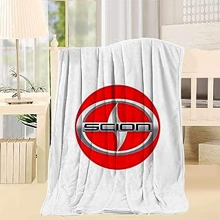 TATXINS Scion Super Soft Fuzzy Fleece Blanket Plush Polyester