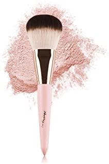 Anne's Giverny Kabuki Large Bronzer Brush Loose Powder Foundation Make up Brush for Blending Blush Makeup (Pink)