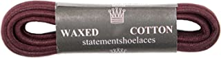 StatementShoelaces Waxed Cotton Thin Round Dress Shoelaces 2 Pair Pack