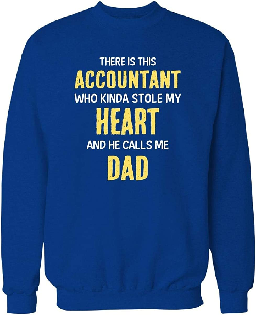 Ranking TOP12 Accountant Over item handling ☆ Stole My Heart and Calls Royal Sweatshirt Me 3XL Dad