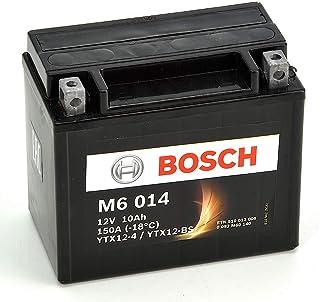 Bosch M6014 Batería motocicleta YTX12-BS - 12V AGM 10A/h-90A