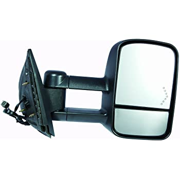 Amazon Com Depo 335 5409r3efh1 Chevy Silverado Sierra Passenger Side Textured Heated Power Towing Mirror With Turn Signal Automotive