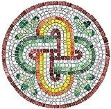 Kit Mosaico'Nodo di Salomone 2' - fai da te - con tessere tagliate a mano