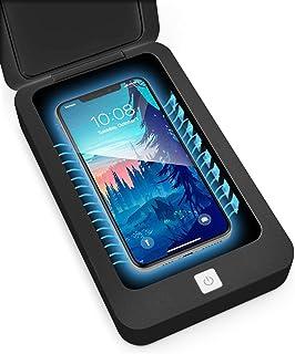 Phone Sanitizer, Premium Portable UV Disinfection, UVC Phone Cleaner, UV Phone Light Sterilizer, Aromatherapy Diffuser, Cl...