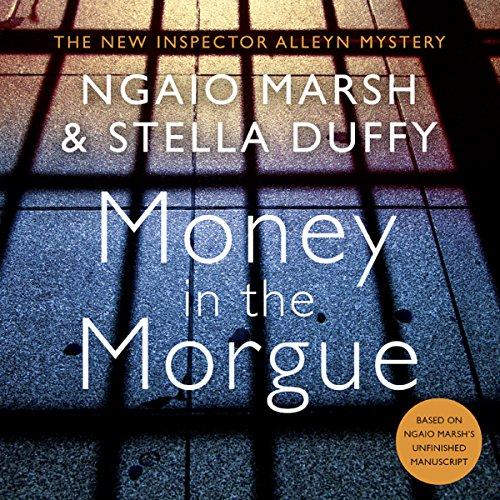 Money in the Morgue audiobook cover art