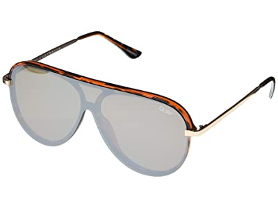 QUAY AUSTRALIA Empire (Tort/Brown Flash) Fashion Sunglasses