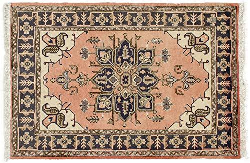 Lifetex.eu Hochwertiger Orientteppich Ardebil-Muster (ca. 105x150 cm) Klassisch handgeknüpft Schurwolle Mehrfarbig Teppich