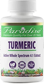Paradise Herbs - Turmeric, Organic | Increases Flexibility + Helps Support Ligaments + Tendons & Joints + Improve Intestin...