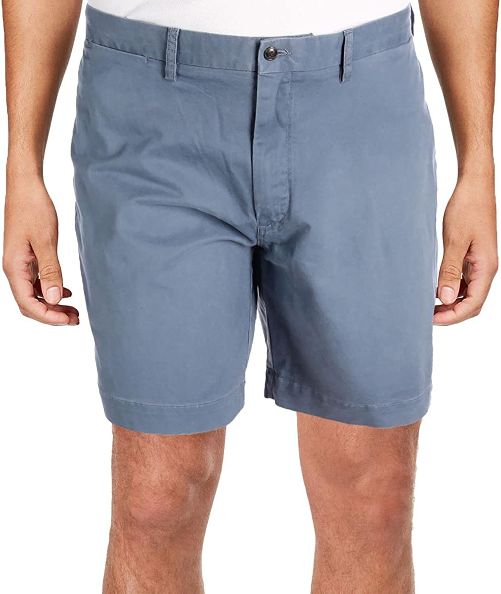 Polo Ralph Lauren Mens Stewart Classic Fit Pleated Shorts Blue 30
