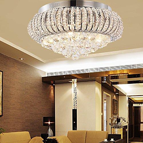KJLARS lampada/lampada a sospensione epoca di lusso cascata moderno soffitto stile luce di soffitto di cristallo
