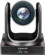 Lonovot NDI PTZ Camera, 20X-SDI Live Streaming Video Camera with Simultaneous HDMI, 3G-SDI and IP Video Output (20X NDI HX)
