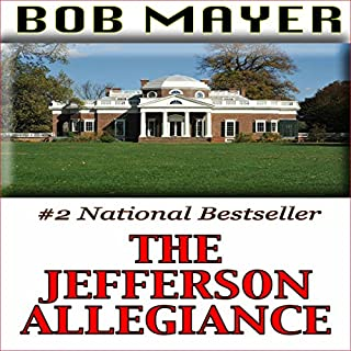 The Jefferson Allegiance audiobook cover art