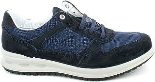 Grisport - Sneaker in camoscio e Tessuto Blu