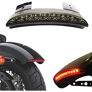 Kit Lighthouse//Tail Light Chrome 3-led stop to Fender Bicycle 20-24-26 graziella