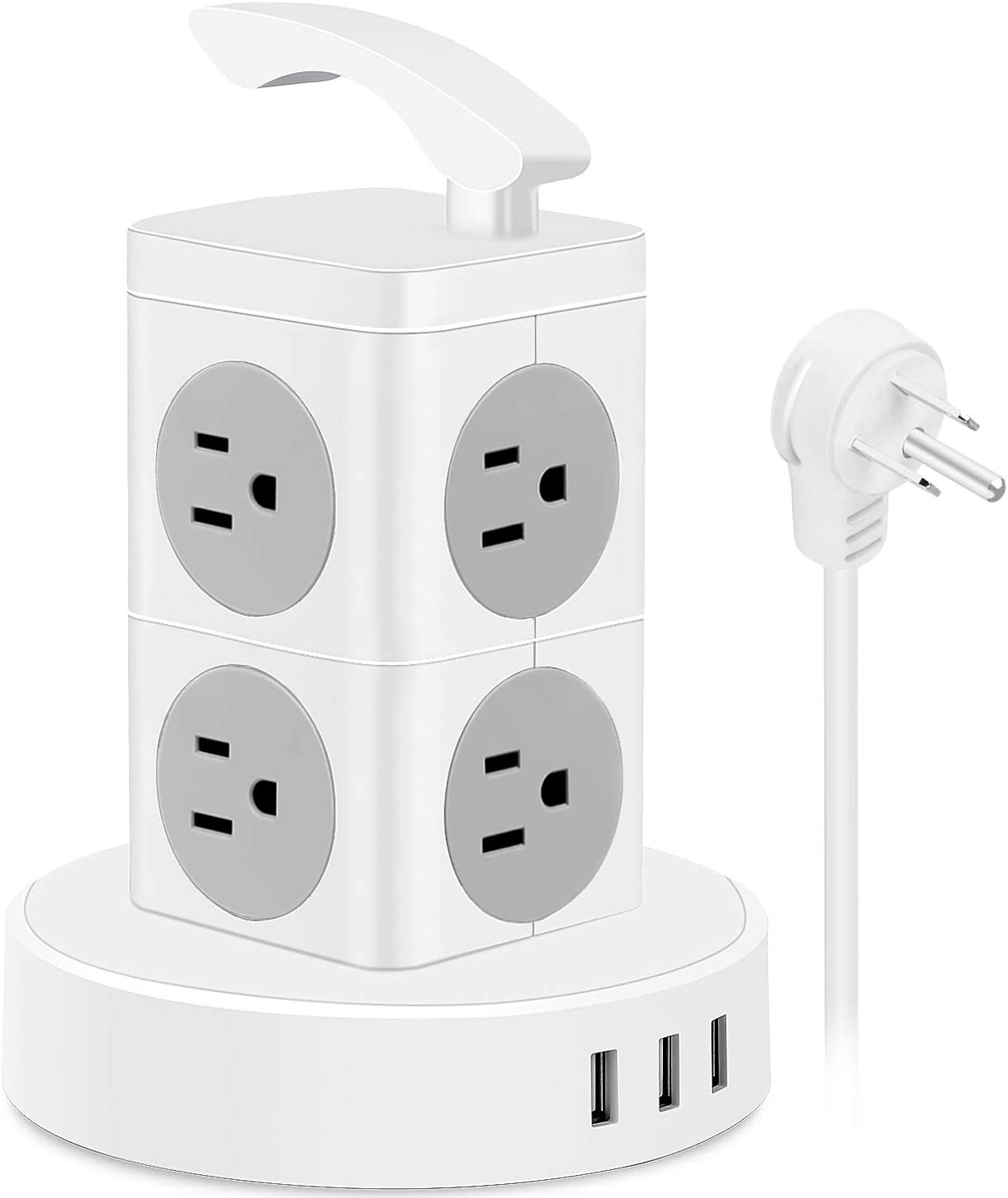 Power Strip Tower Surge Protector Ranking TOP12 8 Outlets Elec Ports USB Max 89% OFF AC 3