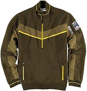 Spyder Active Sports Men's U.S. Ski Team Era Gore-TEX Infinium Lined Half Zip Sweater