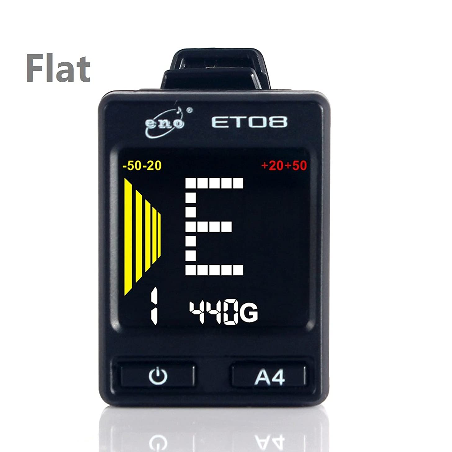 Clip on Colorful Big LCD display Tuner