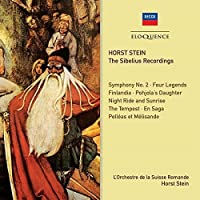Sibelius Recordings by STEIN / ORCH DE LA SUISSE ROMANDE