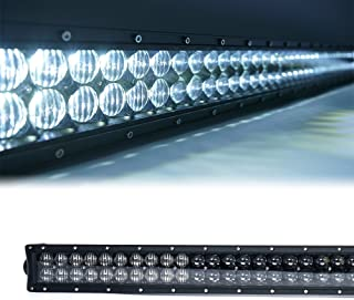 Xprite Super Nova 5D 288W 50 Inch Cree LED Work Light Bar Spot & Flood Combo Beam W/ Harness