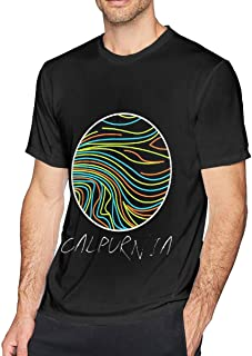ANDREW RUBIE Calpurnia Men Leisure Men's Short Sleeve T-Shirt Black