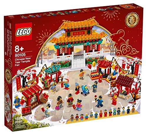 LEGO Tempelmarkt zum Chinesischen Neujahrsfest 80105 Chinese New Year Temple Fair