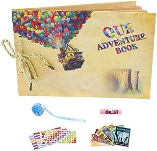YIHAO Album Photos Scrapbooking Notre Livre D'aventure, Cadeau Noël Saint Valentin Anniversaire Mariage Cadeaux Original F...