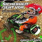 Actionbikes Motors Kinder Elektro Miniquad ATV Racer schwarz/blau - 5