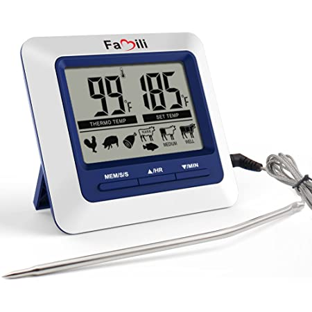 Famili Digital Meat Thermometer (Digital Meat Thermometer)