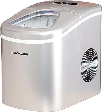 Frigidaire Counter top Portable, 26 lb per Day Ice Maker Machine (Silver)
