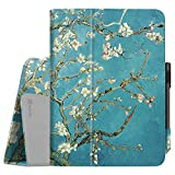 Fintie Folio Case for Samsung Galaxy Tab S3 9.7, [Corner Protection] Premium PU Leather Stand Cover with S Pen Protective Holder Auto Sleep/Wake for Tab S3 9.7 (SM-T820/T825/T827), Blossom