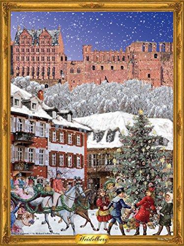Richard Sellmer Heidelburg Castle - Victorian Advent Calendar - German Advent Calendar