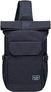 KAUKKO Canvas Messenger Bag Cross Body Shoulder Sling Backpack Travel Hiking Chest Bag