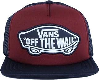 777f8dc82443d Vans Women Beach Burgundy Girl Classic Patch Trucker Hat