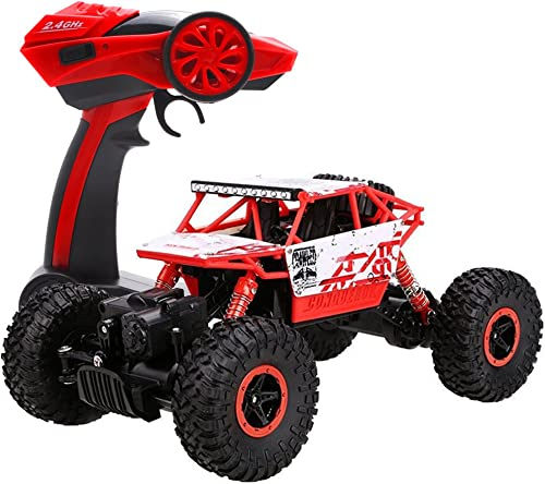 2021 Cheerwing 1:18 Rock Crawler 2.4Ghz Remote Control Car high quality 4WD Off Road wholesale RC Monster Truck (Red) outlet online sale