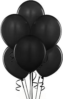 16インチ オニックスブラック 単色丸型バルーン 50入り/袋 クオラテックス単色丸型バルーン