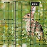 VOSS.PET Premium Kaninchenzaun petNET 12m, 65cm Kaninchennetz Hasenauslauf Elektronetz Kleintiernetz Hasenzaun