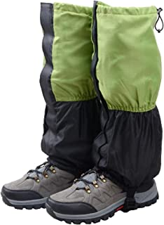 comprar comparacion TRIWONDER Polainas Impermeable de Senderismo para piernas a Prueba de Viento Nieve Lluvia para Montaña Caza Esquí Escalada...