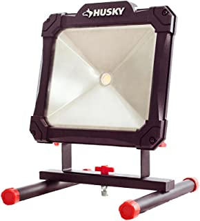 Husky 2500-Lumen Portable Durable Versatile And Long-Lasting Super Bright LED Worklight With 5 ft. Power Cord, Indoor/Outdoor Use