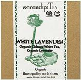 SerendipiTea White Lavender, Organic Lavender & Organic White Tea, 2 Ounce Box