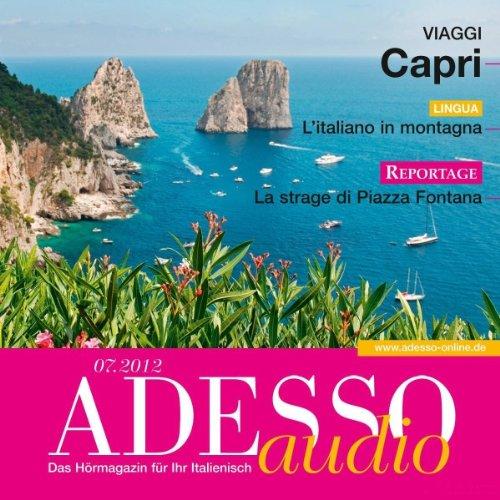 ADESSO Audio - L'italiano in montagna. 7/2012 audiobook cover art