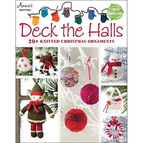 Deck the Halls: 20 Knitted Christmas Ornament Patterns