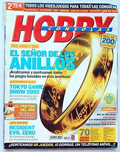 Revista Hobby Consolas Nº 134. El Señor de los Anillos