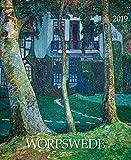Worpswede 205819 2019: Kunstkalender, Wandkalender mit detailgetreuen, charmanten Werken. Format: 36 x 44 cm, Foliendeckblatt
