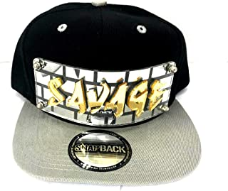 Personalized Custom Snapback Hat Six Panel Flat Bill Snap Back Hat Cap with Laser Cut Graffiti Letters, Custom Made to Order, Comfortable and Unique, Great Gift, an Exclusive Creation